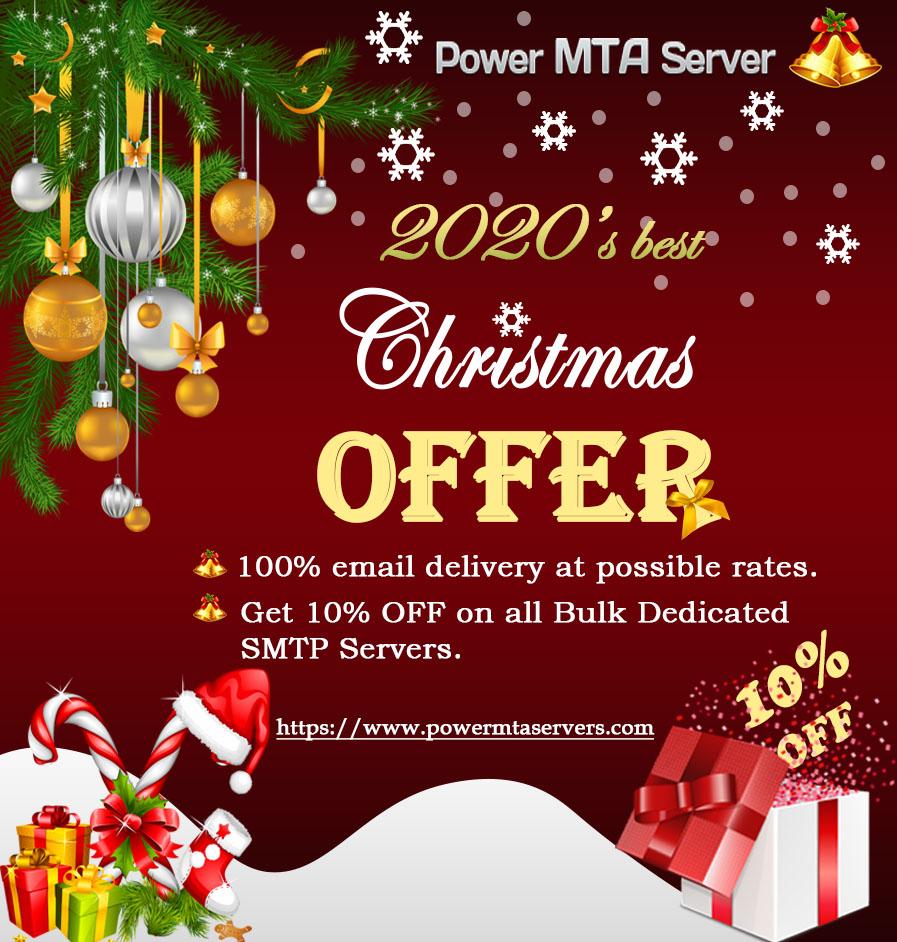 Christmas Offer Cheap SMTP Server for Email Marketing  Dedicated Email Server provider