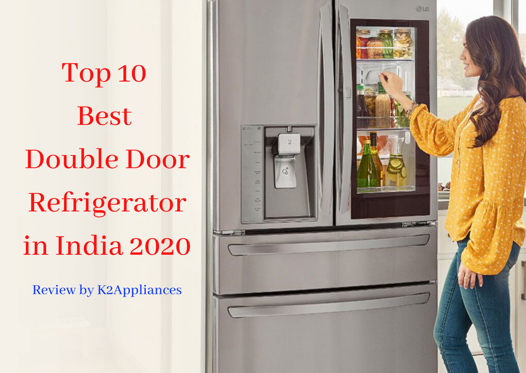 Top 10 Best Double Door Refrigerator in India 2020