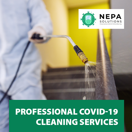 Complete Covid-19 Disinfection Services - Nepa Solutions