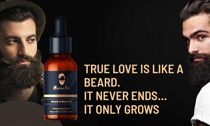 Hashtag Beard Oil For Men   Mooch and Beard Oil