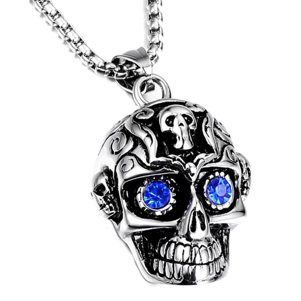 Designer Skull Necklace