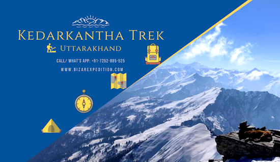 Kedarkantha Trek Booking 2019-20 | Kedarkantha Trekking Packages Organiseres | Bizarexpedition