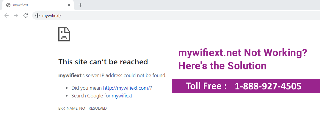 mywifiext.net Not working Issue? Get Instant Solution