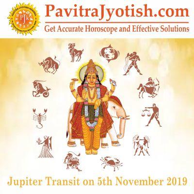 Jupiter (Guru) Transit 2019-2020