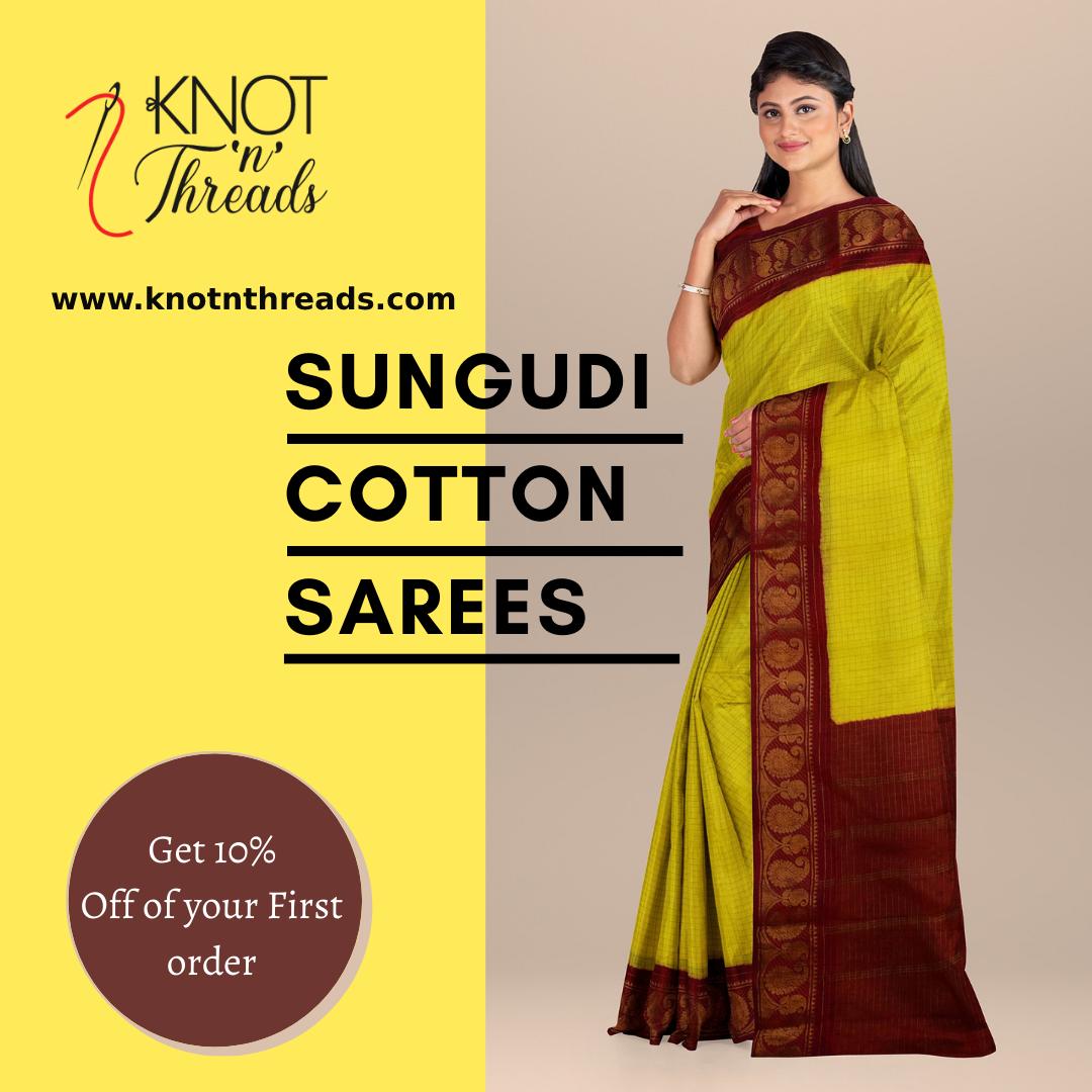 Buy Sungudi Sarees online at Best Prices in India