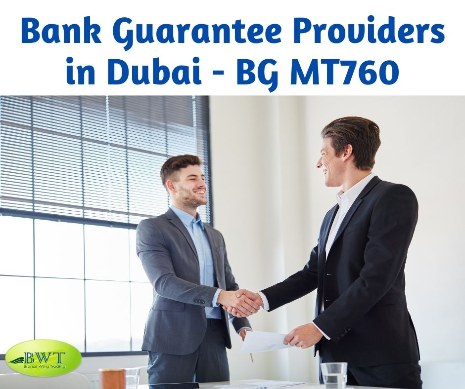 Bank Guarantee Providers in Dubai - BG MT760