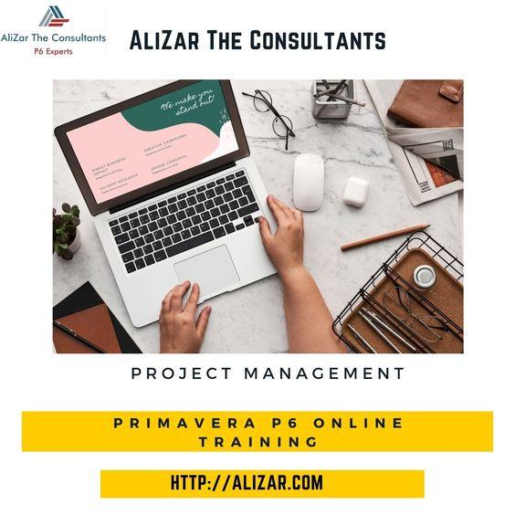 Primavera Online Training | AliZar The Consultants