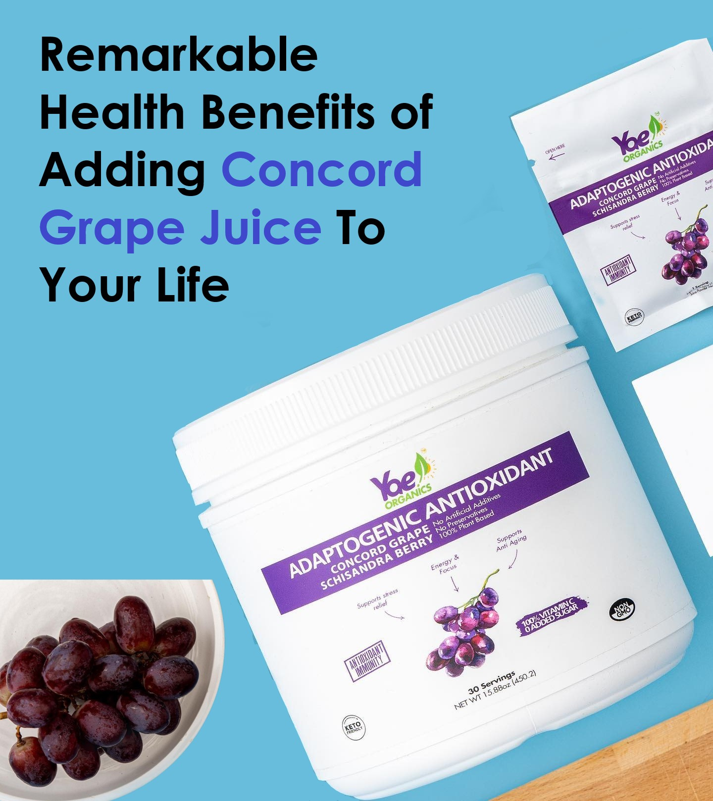 Remarkable Health Benefits of Adding Concord Grape Juice To Your Life