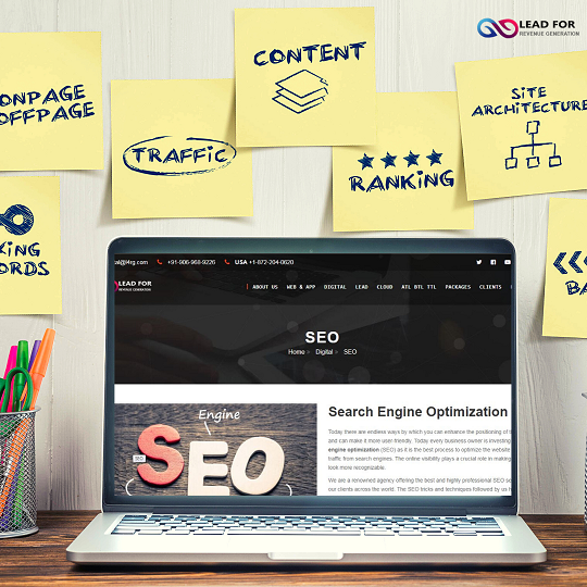 Get the Best in Class SEO Services for Your Business - L4RG