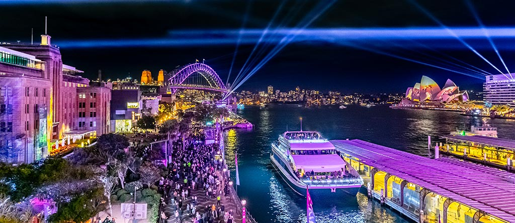 Vivid Sydney 2021 | Celebrate on Board a Luxury Vivid Cruise