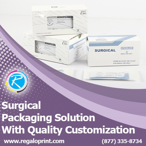 Surgical Packaging Solution With Quality Customization – RegaloPrint