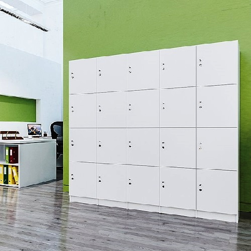 Fitting Furniture Locker Banks: Leading Supplier of Lockers for Office Staff