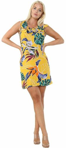 Ladies Floral Dress 5205