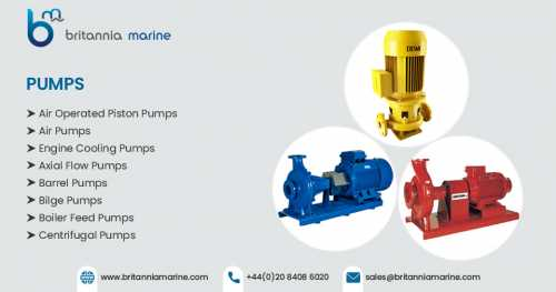 Increase Performance with Top Brands Marine Pump Spare Parts