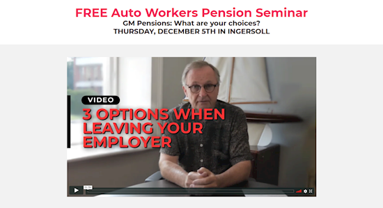 FREE Auto Workers Pension Seminar