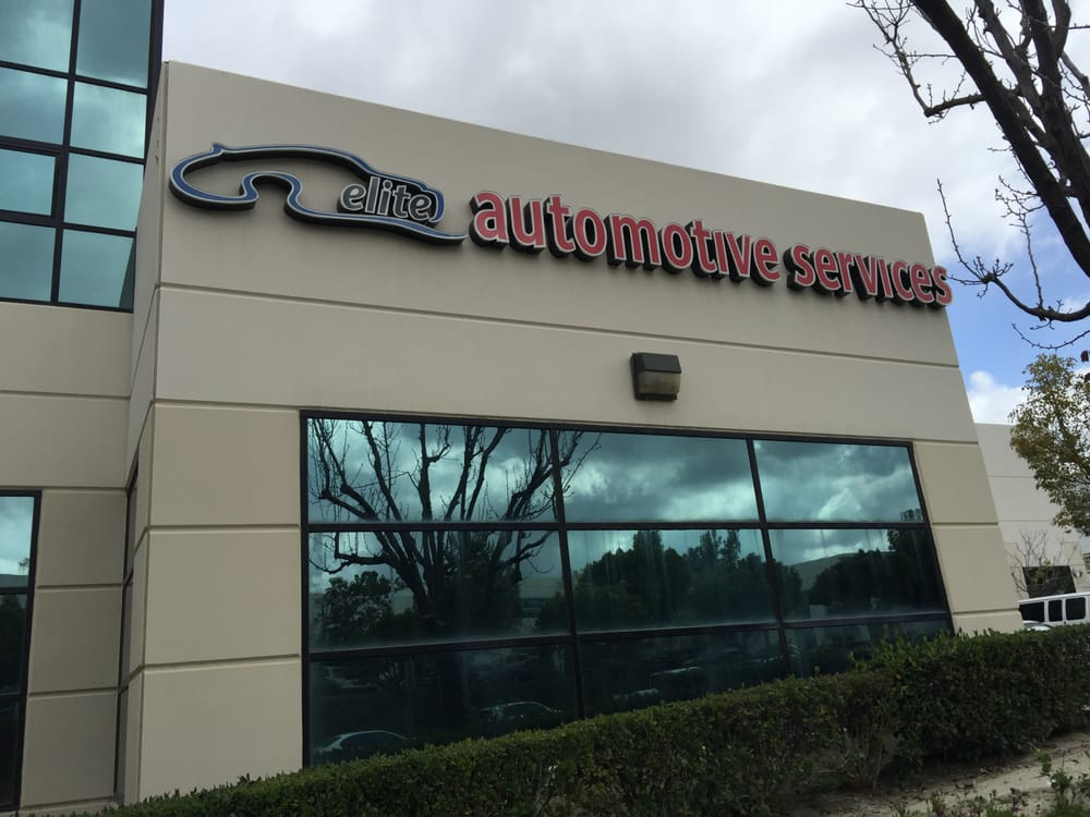 Custom Exterior Building Signage by VizComm in Fountain Valley, CA