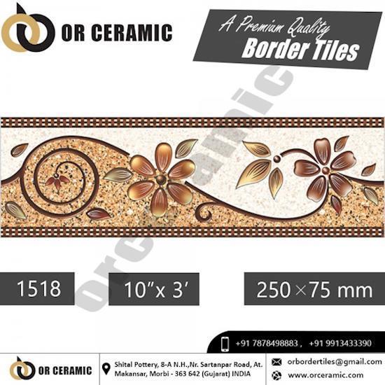 Ceramic Border Tiles at Best Price in Tamil Nadu- Or Ceramic