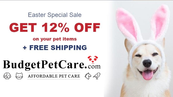 Easter Sale 2020 - Buy Online Pet Supplies for Dogs & Cats