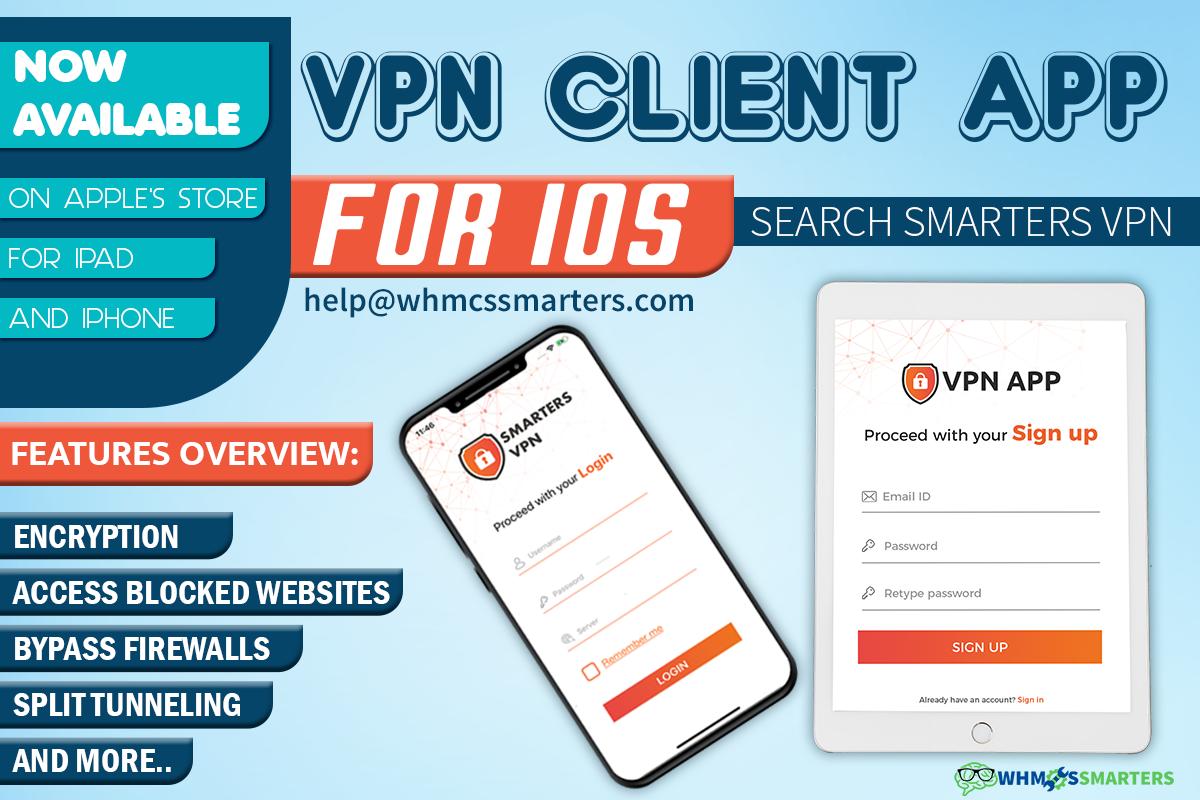 GET SMART CUSTOM VPN APP FOR iPHONE