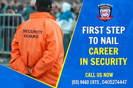Steps to become security guard | New Age Training Academy Reservoir | Au