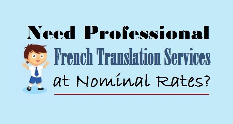 Professional French canadian translation services