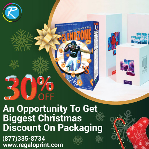 An Opportunity To Get 30% Christmas Discount On Packaging