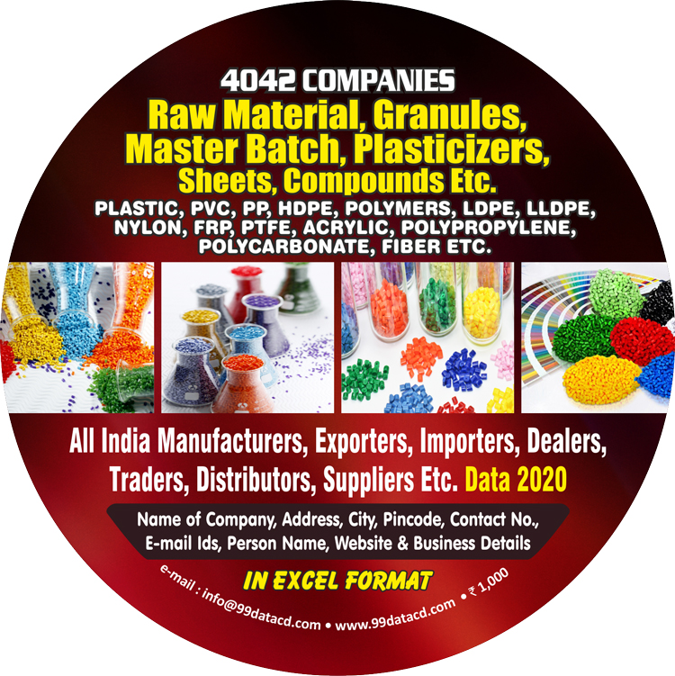 Plastic Raw Materials, Granules & Master batches Manufacturer Database & Directory