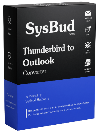 SysBud Thunderbird to Outlook Converter