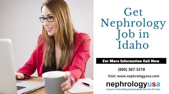 Get Nephrology Job in Idaho