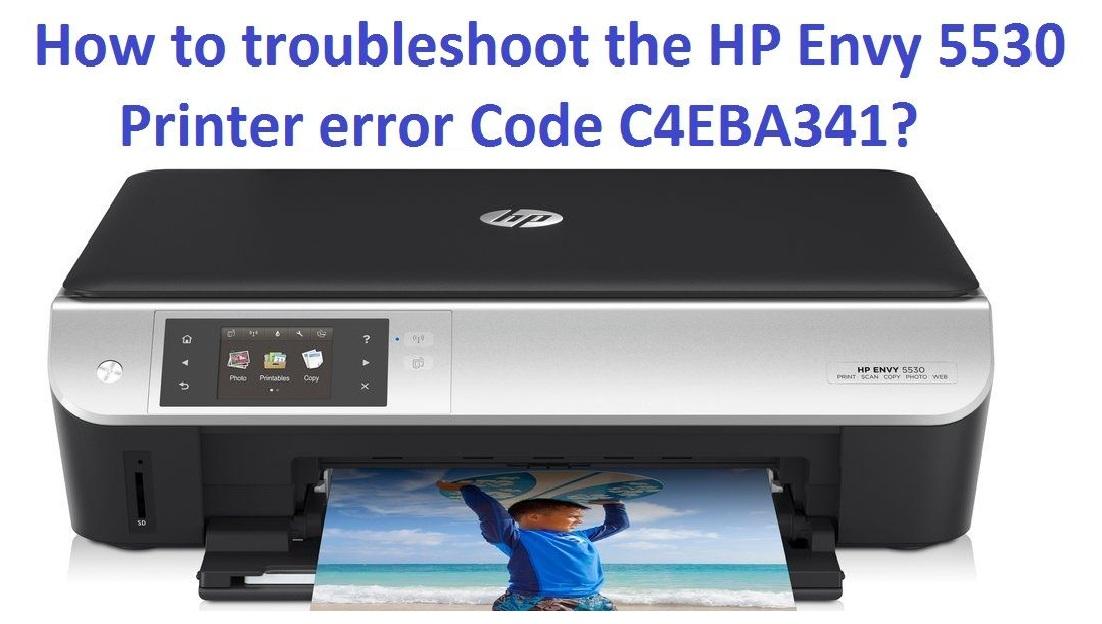 Solution of HP Printer Error c4eba341