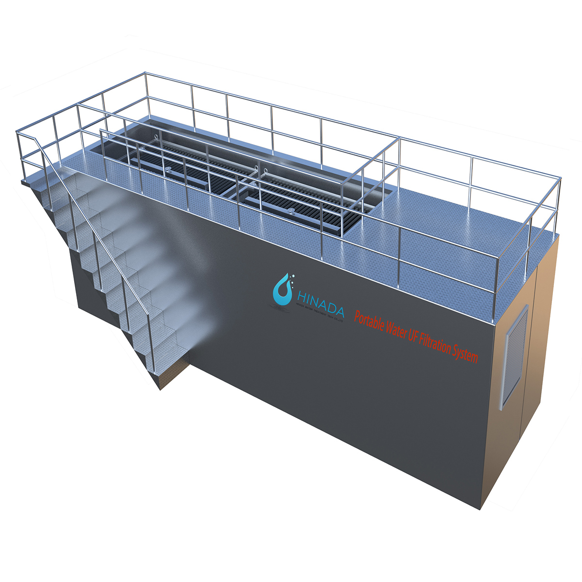 Uf Technology for Drinking Water System - Hinada