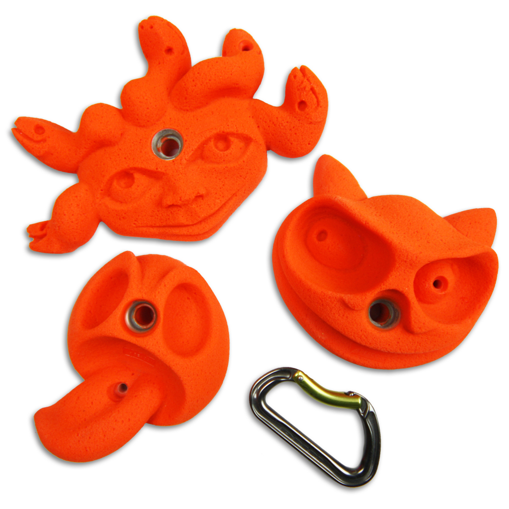 Kids climbing holds for Sale