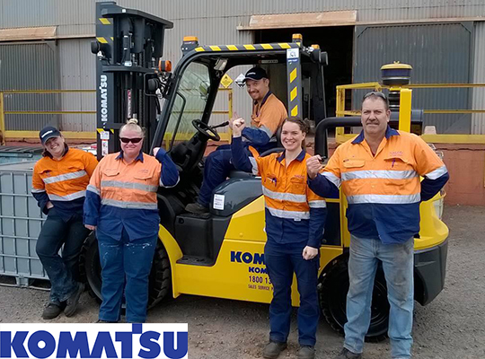 Hire Forklifts in Wollongong