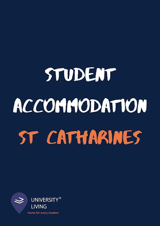 Student Accommodation st Catharines- University Living