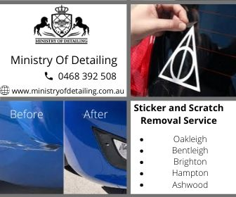 Sticker and Scratch Removal Service Hampton