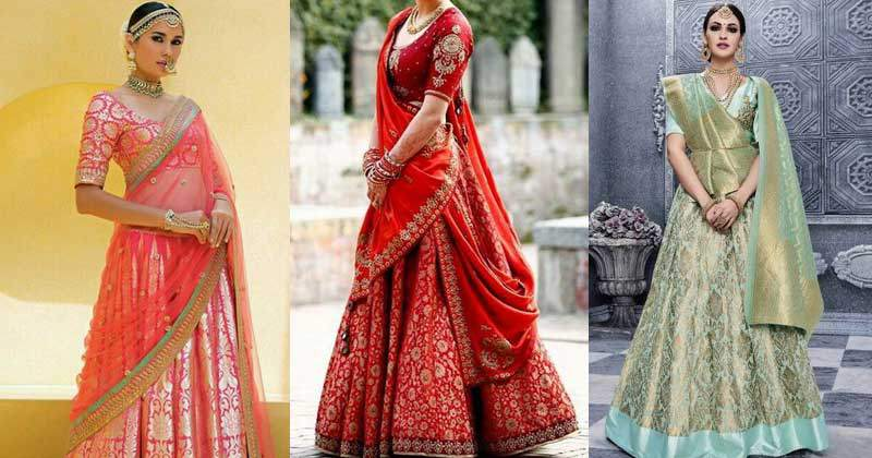 Authentically Tailored Indian Wedding Dresses for Bride