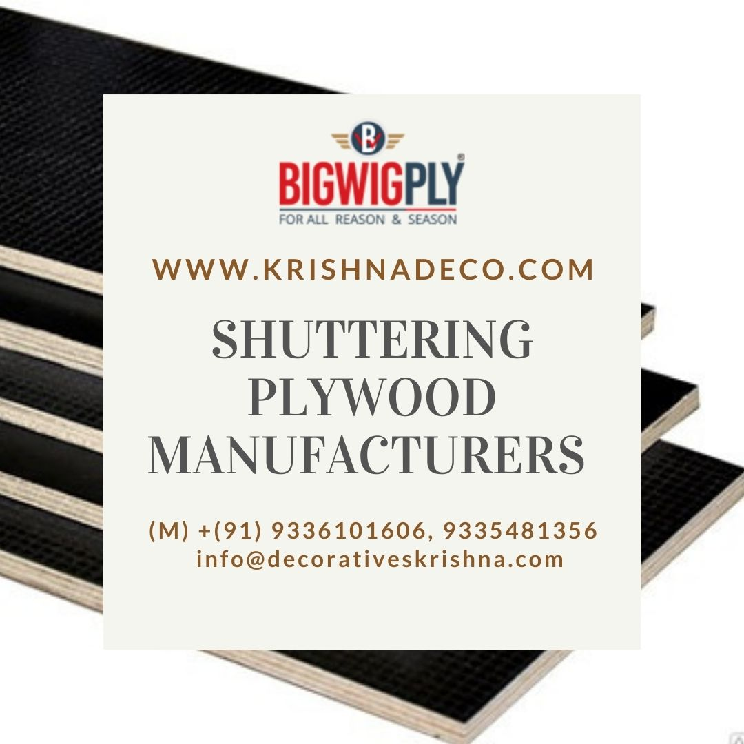 Shuttering Plywood Manufacturers in USA, India, Nepal- Bigwigply