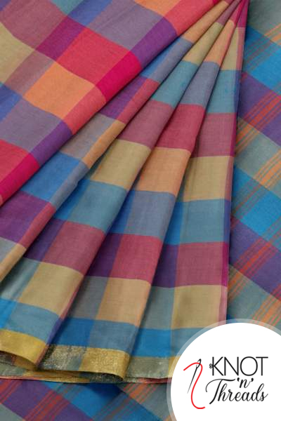 Buy Latest sarees Collection Online in India - Knotnthread