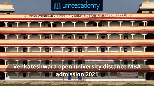 Venkateshwara open university distance MBA admission 2021