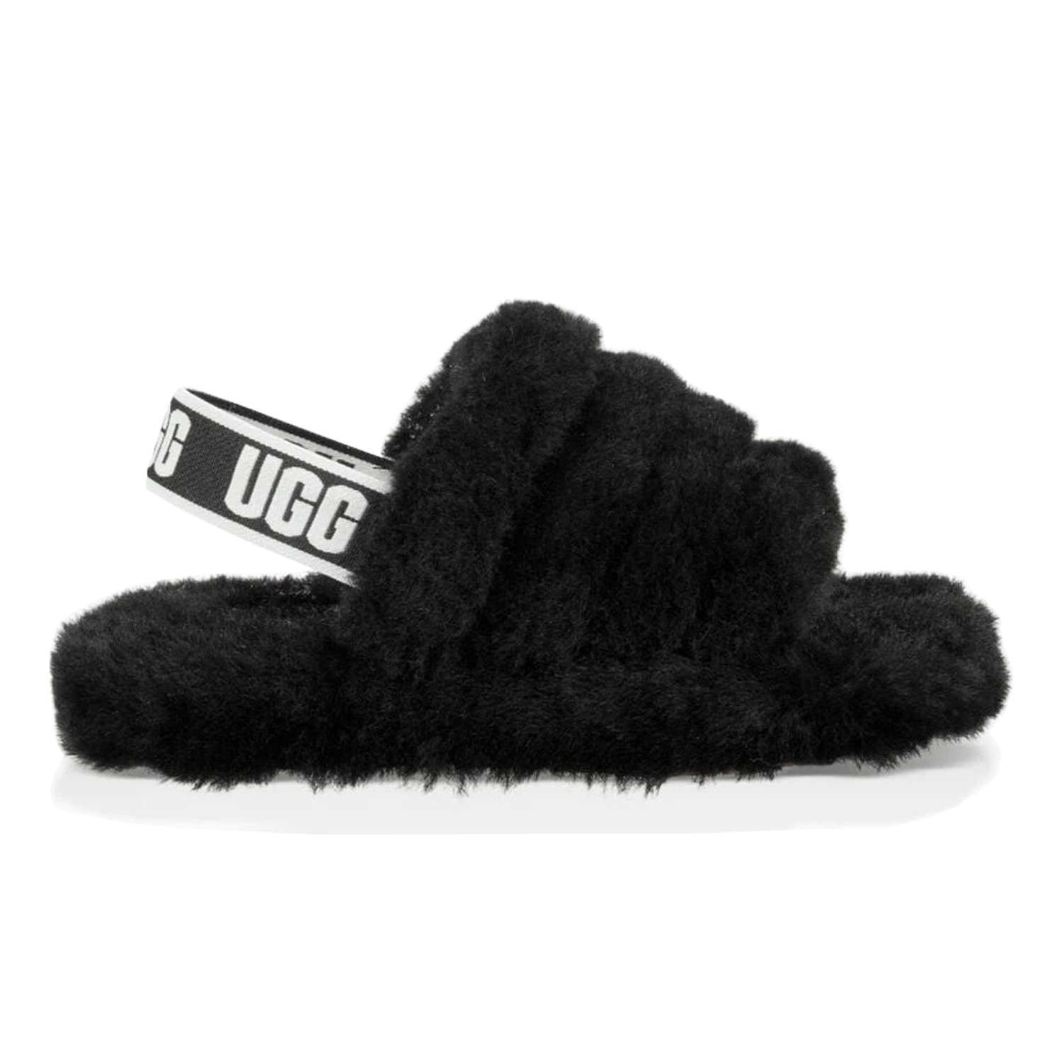Buy Womens UGG Slides in Black Color