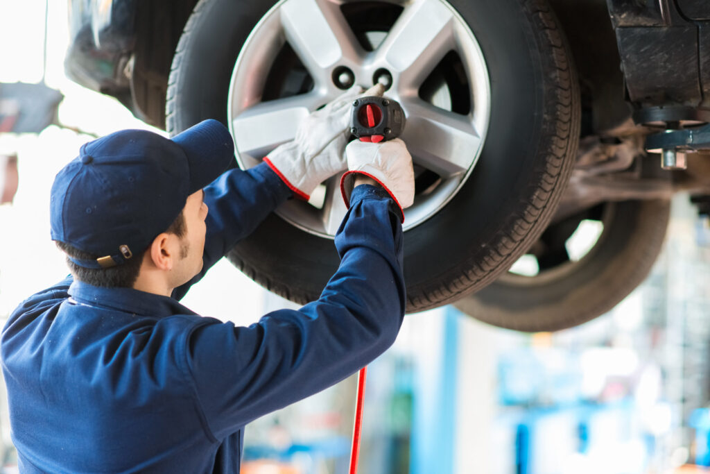 car tire repair shop calgary