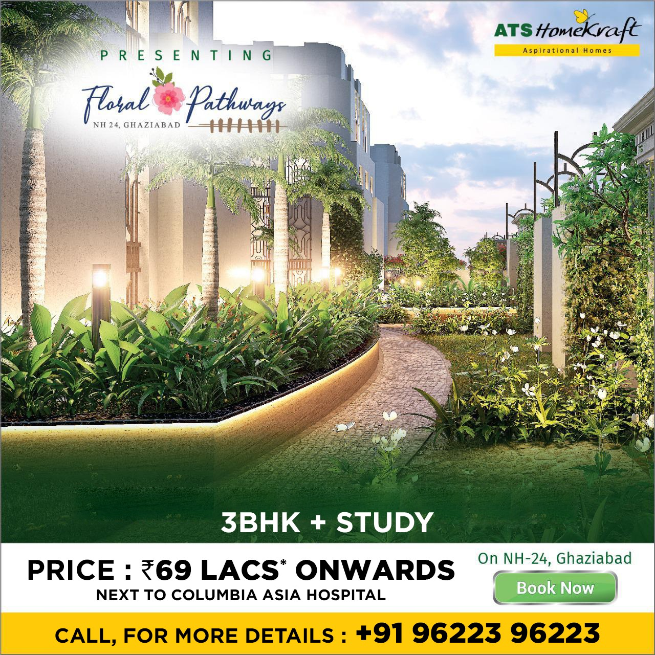 ATS Floral Pathways – Enjoy Your Dream Home At The Best Location