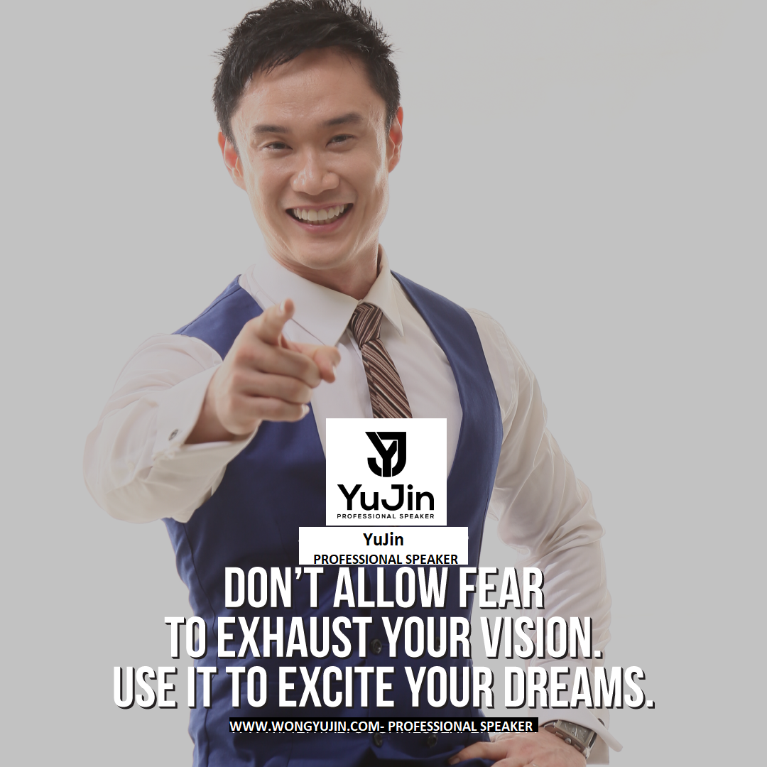 Searching Best Motivational Speaker in Singapore- YuJin