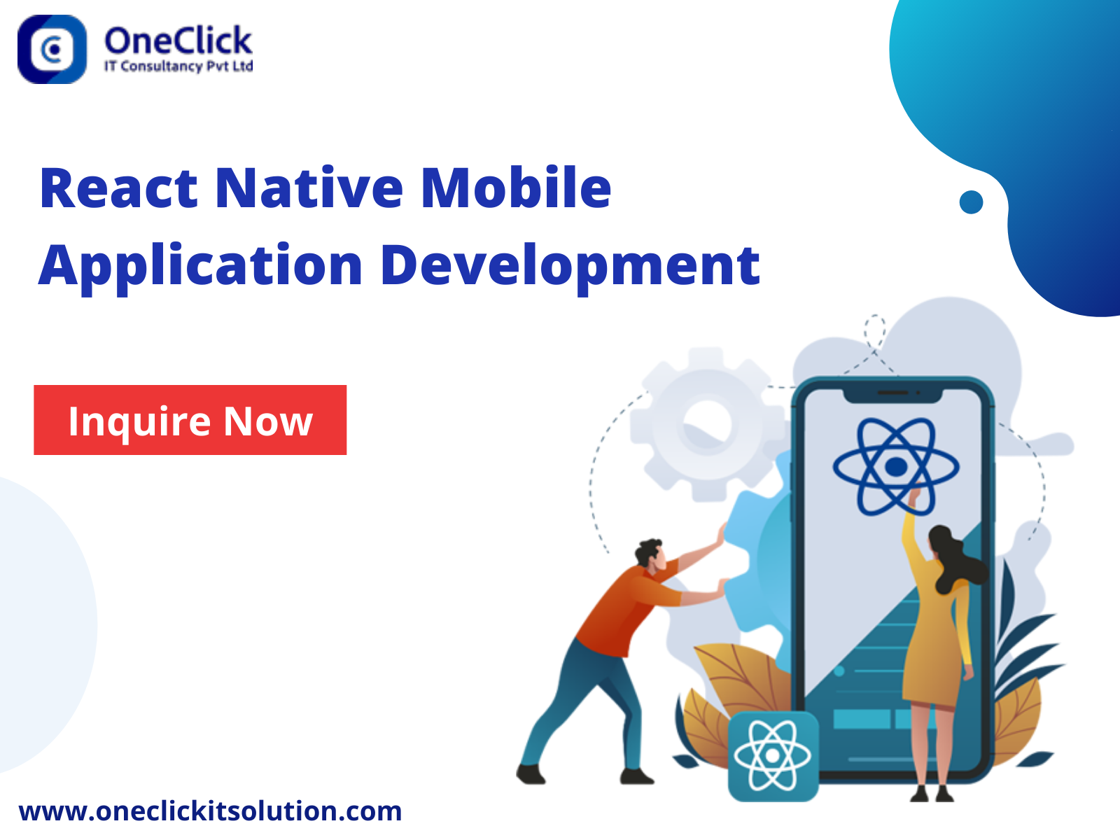 Top React Native Mobile Application Development Company in USA
