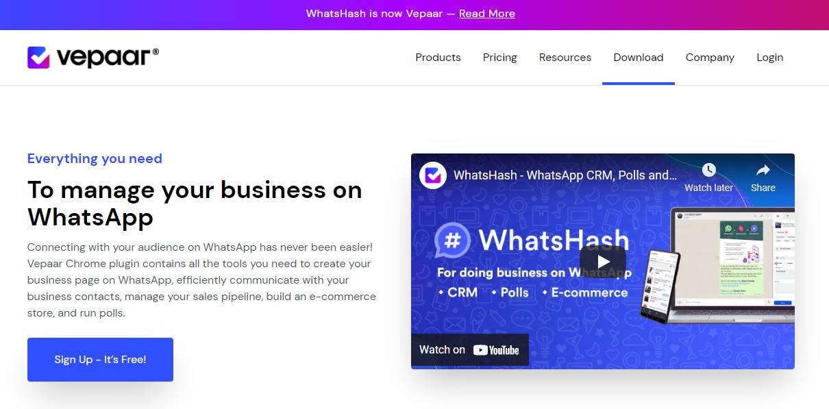 Vepaar App - WhatsApp Store Online Business App