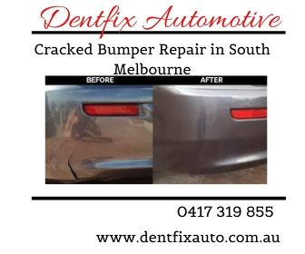 Cracked Bumper Repair Service in South Melbourne