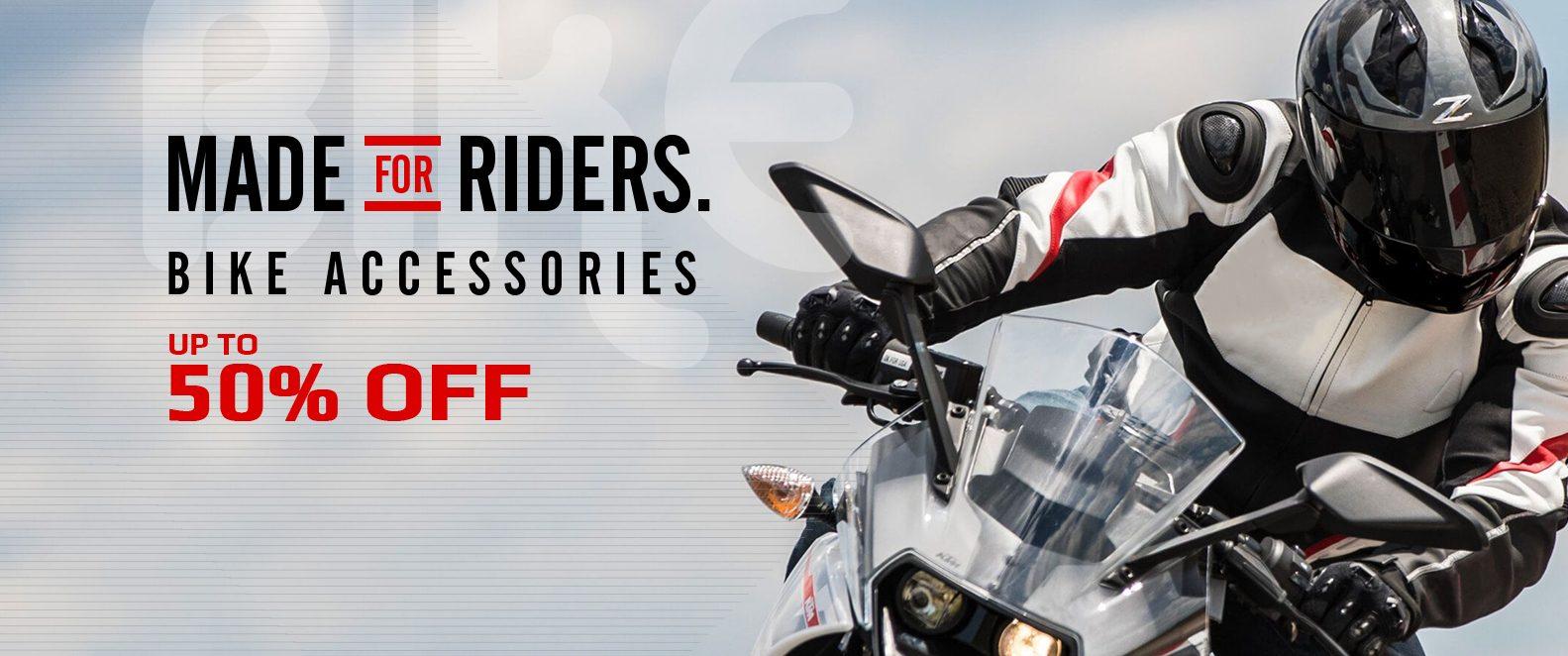Best Riding Gear Online - Biker Accessories India
