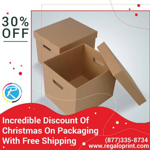 Incredible 30% Discount Of Christmas On Packaging With Free Shipping