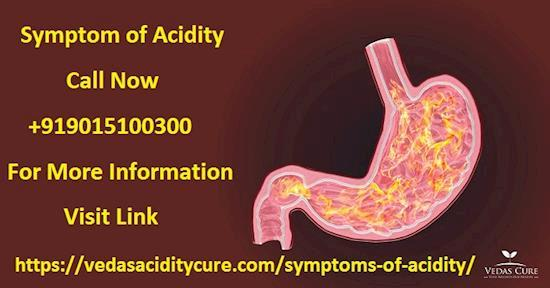 What are the Symptoms of Acidity?