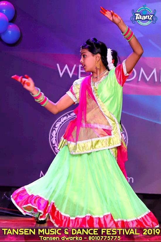 Tansen Bharatnatyam Dance Classes in Dwarka Delhi 8010775775